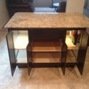 Custom Cabinet with topped granite