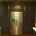 Custom Cabinets around Appliances