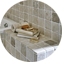 Image of tile work by madera remodeling & custom cabinetry