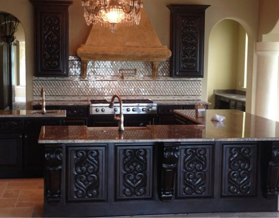 Custom kitchen by Madera Remodeling