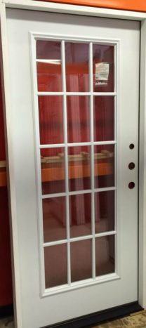 Exterior Back Doors Backdoor Fiberglass 10 Lites Exterior Back Doors